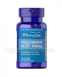 Puritans Pride PURITANS PRIDE KWAS HIALURONOWY 100 mg 30 kaps