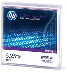 HP LTO-6 Ultrium 6.25TB BaFe RW Data Cartridge C7976B