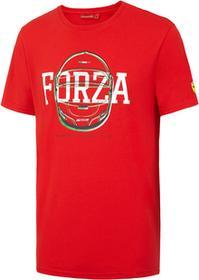 Ferrari F1 Koszulka męska Forza Helmet Graphic Tee