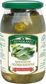 Runoland (grzyby, zupy, przetwory) ogórek kiszony bio 830 g