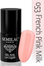 Semilac Lakier hybrydowy 053 French Pink Milk