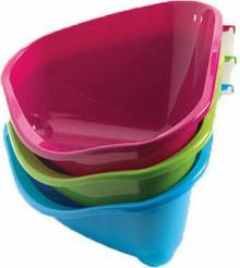 Yarro Kuweta narożna do mocowania w klatce mix kolorów, rozm. S, wys.10cm, boki