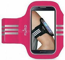 PURO Armband Uniwersalna sportowa opaska na ramię do smartfonów max 5 różowy)