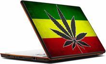Oklejaj Naklejka na laptopa - Flaga Rasta