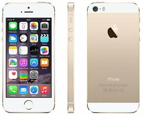 Apple iPhone 5s 16GB złoty