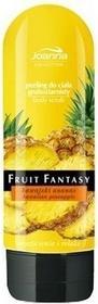 Joanna Fruit Fantasy peeling do ciała gruboziarnisty hawajski ananas 200ml
