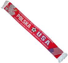 Szalik z meczu towarzyskiego Polska-USA 26.03.2008
