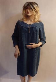 MaximoModa Sukienka jeansowa  XXL RO0018
