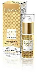 Dermika Gold 24k Total Benefit Krem-esencja młodości pod oczy 15ml