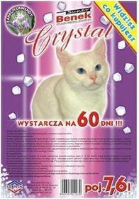 Benek Crystal Silikonowy Lawenda 7,5 L