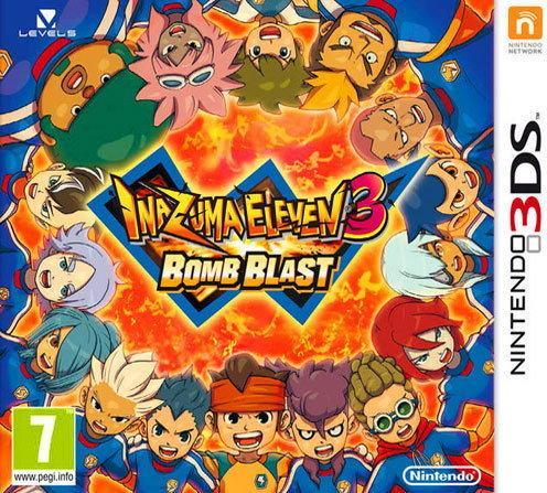 Inazuma Eleven 3 Bomb Blast 3DS