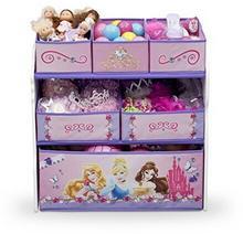 Delta TB84480PS organizer na zabawki, drewno i materiał, Księżniczki TB84480PS