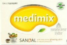 MEDIMIX Ajurwedyjskie Mydło w kostce Sandałowe (dla skóry z niedoskonałościami) 125g