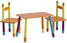 Zeller Stolik dziecięcy COLOR + 2 krzesełka 13455 26/5