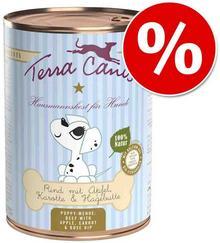 Terra Canis Karma Dla Szczeniąt 6 X 400 G - Jagnięcina Z Cukinią Koprem Włoskim I Chudym Jogurtem