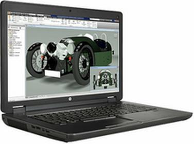 """HPZBook 17 G2 J8Z41EA 17,3\"""", Core i7 2,8GHz, 16GB RAM, 750GB HDD, 256GB SSD (J8Z41EA)"""