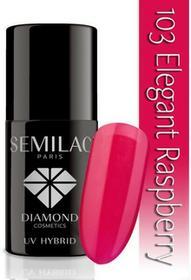 Semilac Lakier hybrydowy 103 Elegant Raspberry