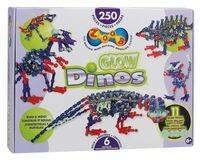 Zoob Glow Dinos 25 elementów - ZOOB