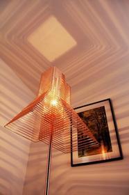 Zava Luce Zavaluce Grown lampa stojąca Miedź, 1-punktowy GROT011972FOT