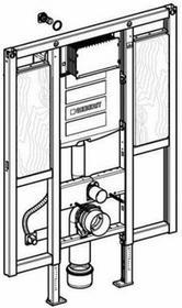 Geberit Duofix - Element montażowy Do kompaktu WC dla niepełnosprawnych, specjalny, UP320, Sigma, H112 111.375.00.5