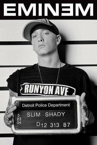 Eminem (Mugshot) - Plakat