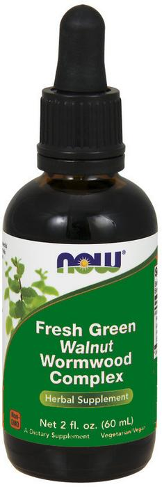 Now Foods Black Walnut -Czarny Orzech Extract 60 ml