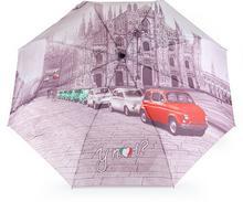 YNot Parasol damski z nadrukiem automatyczny Easymatic Light City Milano 55358