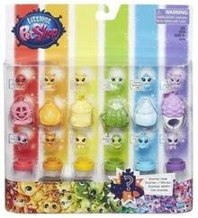 Hasbro Littlest Pet Shop Teczowy zestaw zwierzaków C0796