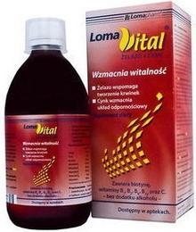 Lomapharm Loma Vital żelazo + cynk 500 ml