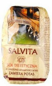 Salvita Produkt-Sol Sól dietetyczna o obniżonej zawartości sodu 0,5kg
