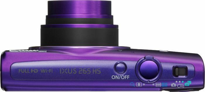 Canon IXUS 265 HS fioletowy