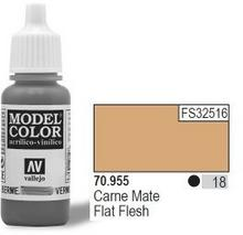 Vallejo Farba Nr18 Flat Flesh Matt 17ml 442814
