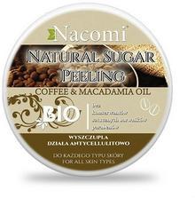 Nacomi Peeling cukrowy - kawa, macadamia 100ml