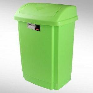 Plast-team Kosz uchylny na śmieci 50L niebieski