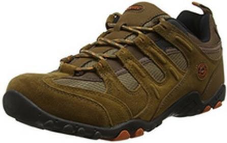 Hi-Tec Buty trekkingowe Quadra Classic dla mężczyzn, kolor: brązowy, rozmiar: 45 EU B017Z580EA