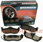 BREMSEN Tylne CERAMICZNE klocki hamulcowe Nissan Titan 2004-2011