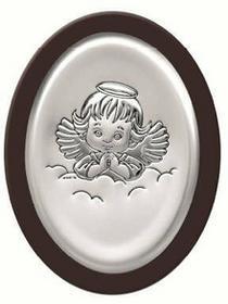 Beltrami Obrazek Anioł Stróż w ciemnej oprawie -(BC#6383)
