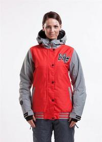 Meatfly XOX C H.Red/Light szary (73) rozmiar: S