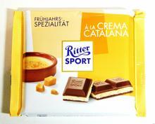 Ritter Sport A la Crema catalana 100g