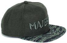 Majesty Czapka z daszkiem - Tigercamo zielony/Tiger Camo (GREEN) rozmiar: OS