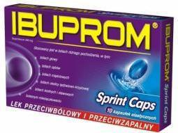 US Pharmacia Ibuprom Sprint Caps 200mg 24 szt.