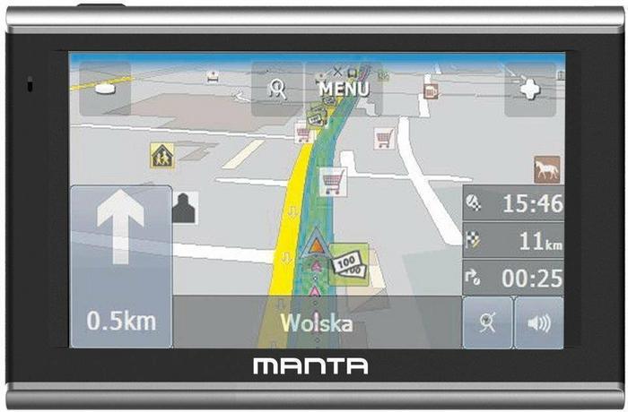 Manta GPS720 Easy Rider Europa