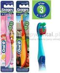 Oral-B Stages 3 - szczoteczka dla dzieci w wieku od 5 do 7 lat