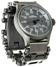 Leatherman Adapter ChronoLinks 20 mm Silver do mocowania zegarka na multitoolu Tread