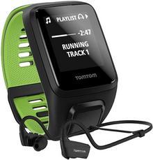 TomTom Runner 3 Cardio+Music+HP S czarno-zielony +300zł