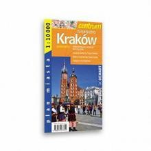 Kraków centrum (wersja angielska) plan miasta Demart