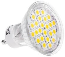 LIGHTECH Żarówka LED 4,5W GU10 360lm 6500K 230V 24SMD5050 obudowa szklana Lightech