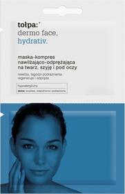 Tołpa Dermo Face Hydrativ - maska-kompres nawilżająco-odprężająca na twarz, szyję i pod oczy 2x6ml