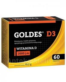 Tactica Pharmaceuticals Sp.z o.o.GLIWICE GOLDES D3 2000 j.m 60 tabl 3094721