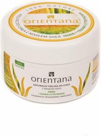 Orientana Peeling do ciała z masłem shea imbir i trawa cytrynowa 200g